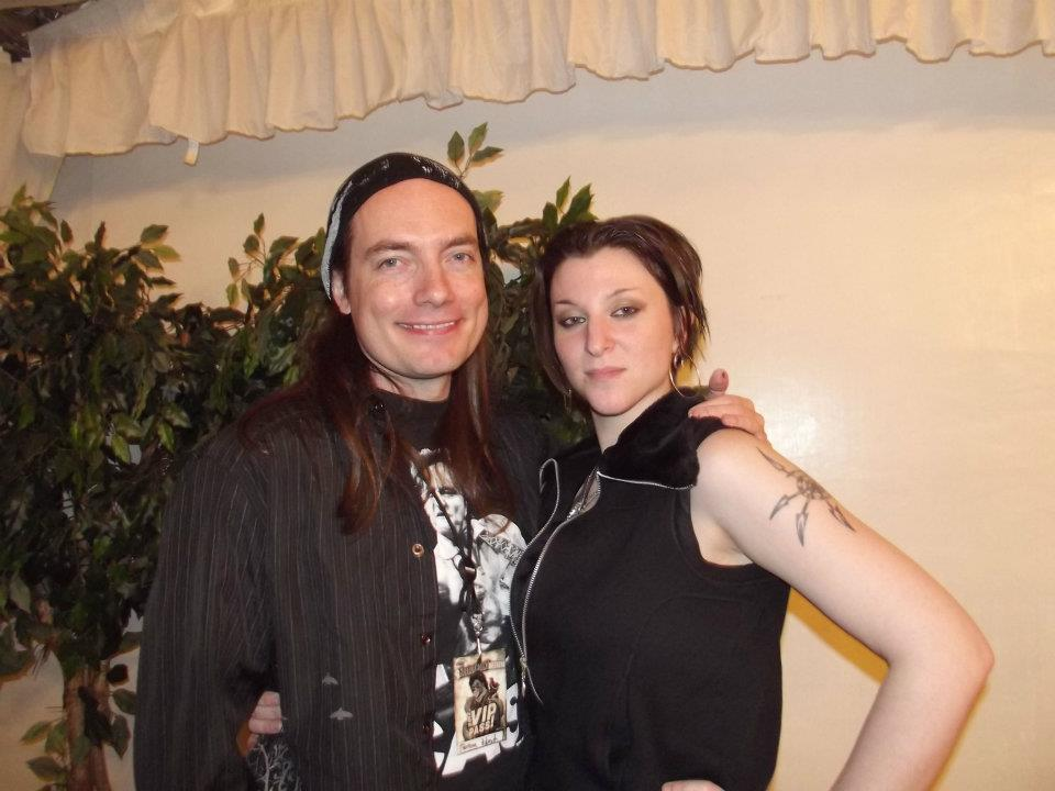 Terrence Zdunich and Sedusa at HorrorHound, 2012!