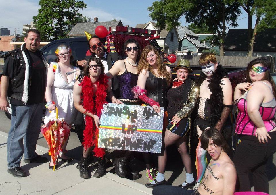 TLT cast and crew at 2012 Indy Pride!