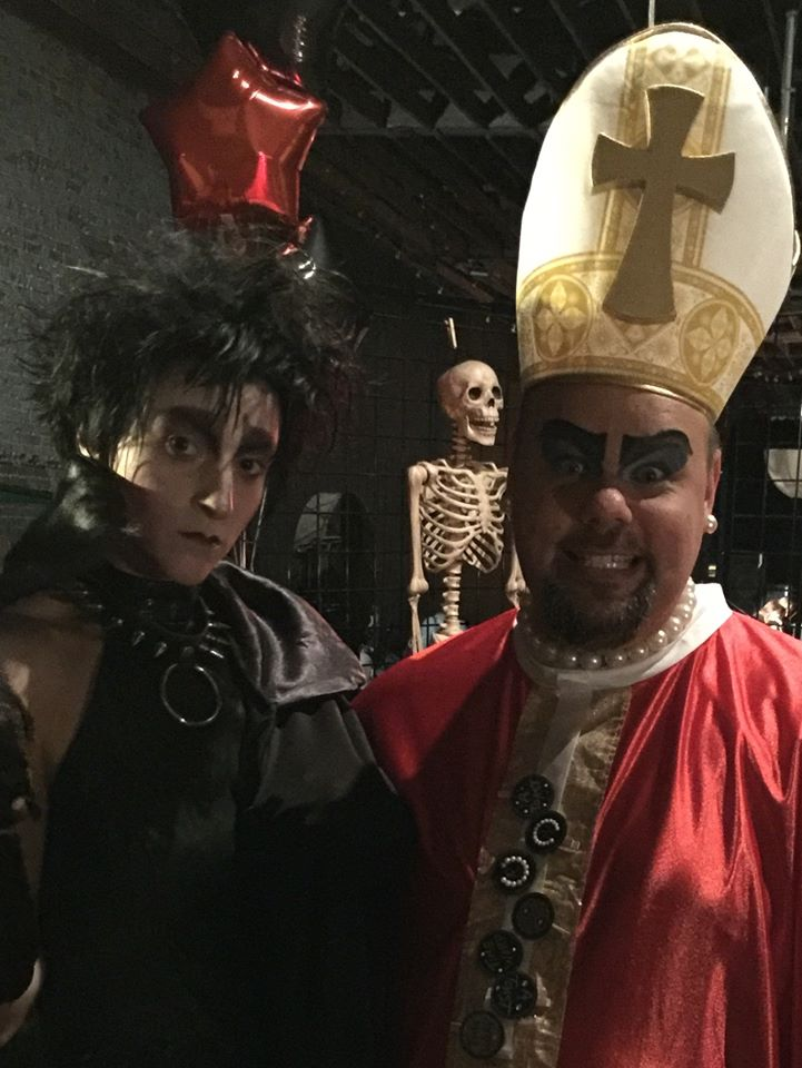 Sedusa and Steven at TLT Halloween 2015 at the Irving!